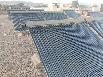 agua caliente placas solares tubo de vacío heat pipe