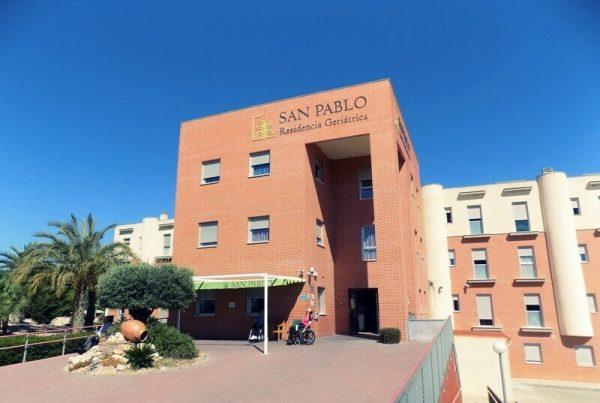 Residencia de ancianos San Pablo, Ceutí. Con instalación solar térmica de tubos de vacío-