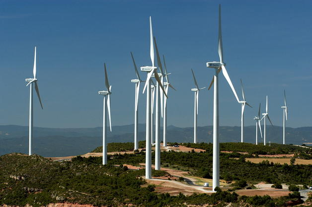 El viento produjo el 21,7×100 de los Kwh producidos en España en febrero de 2012