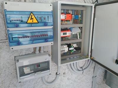 Cuadro eléctrico climatización de quirófano