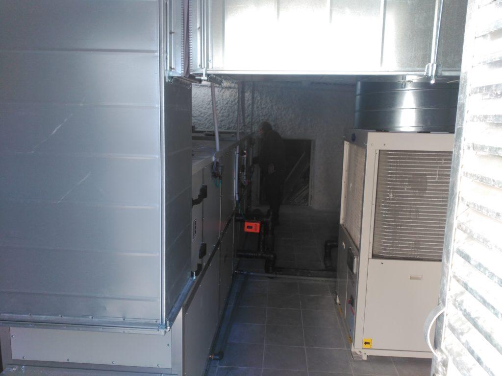 Sala de climatización de quirófano en Hospital de Molina de Segura, Murcia