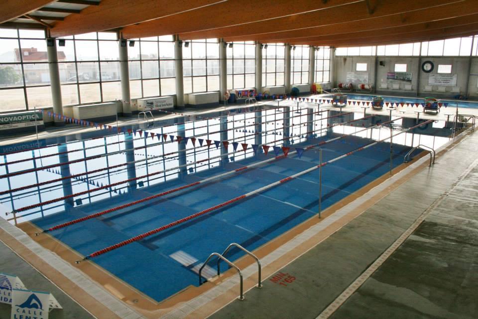 Vaso grande y vaso pequeño de piscina municipal de Torre Pacheco