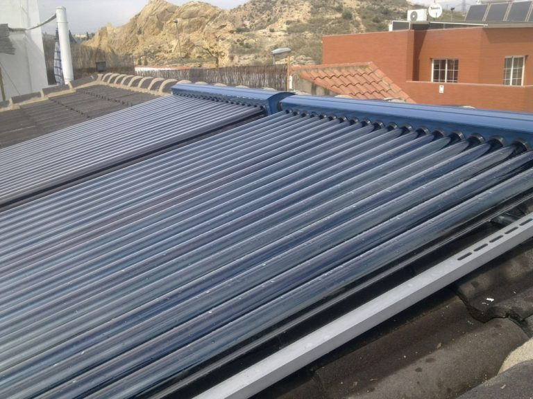 Placas de energía solar para ACS, piscina y calefacción