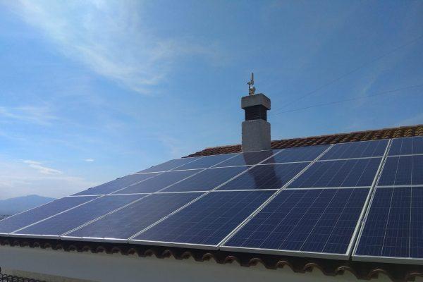 Instalación solar fotovoltaica de autoconsumo doméstica