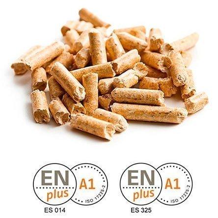 Pellet de pino EN-Plus A1a granel