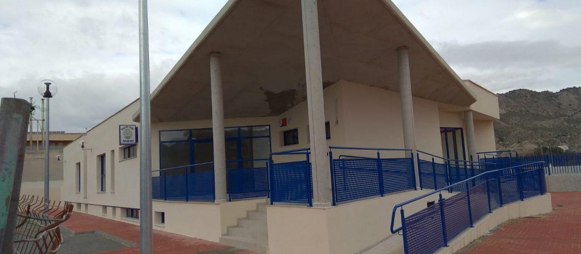 Instalación de climatización en comisaría de Abarán, Murcia